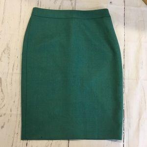J. Crew Pencil No 2 Skirt Size 2 NWT